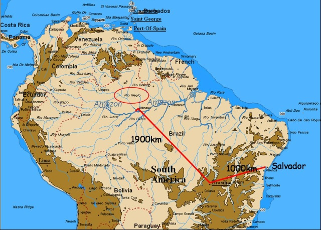 karta amazonas Sjökort och kartor karta amazonas